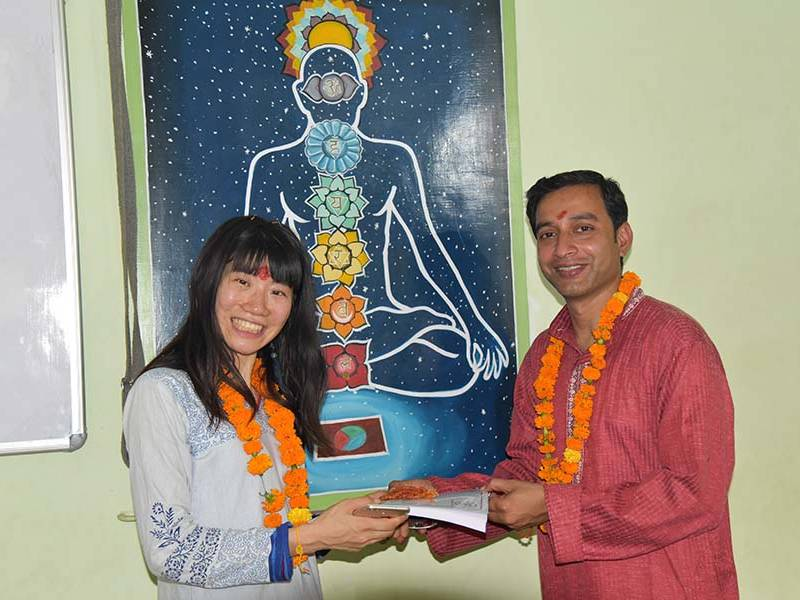 best yoga teaching courses in India